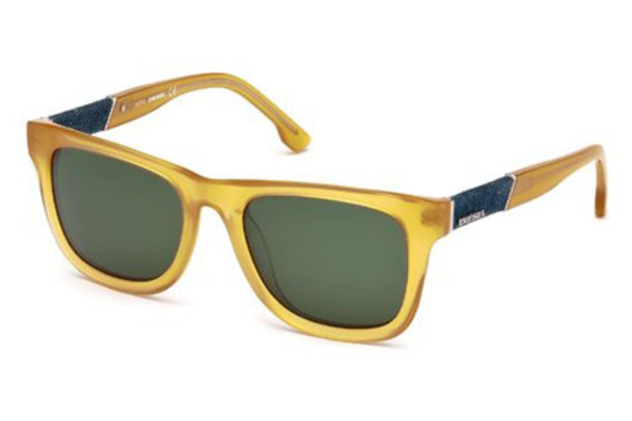 0a7688a93ef0 ... Black Crystal   Smoke  Diesel DL 0050 S MADISON Sunglasses in 39N Shiny  Yellow   Green ...