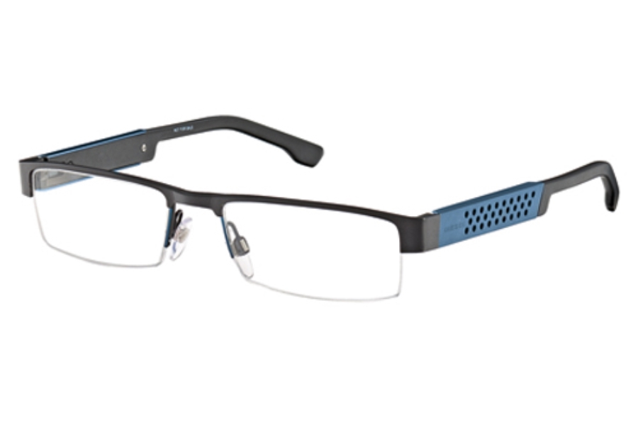 Diesel DL 5021 Eyeglasses in 005 Black Petroleum