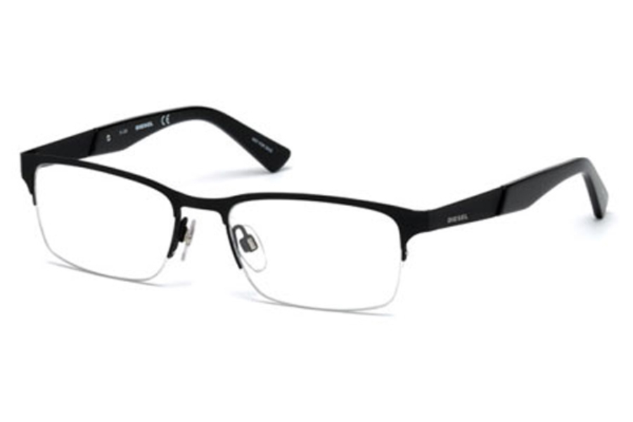 Diesel DL 5235 Eyeglasses in 002 - Matte Black