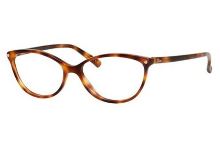 e5da99536121 ... 06NI Gray Opal Pink  Christian Dior CD-3285 Eyeglasses in 005L Havana  ...