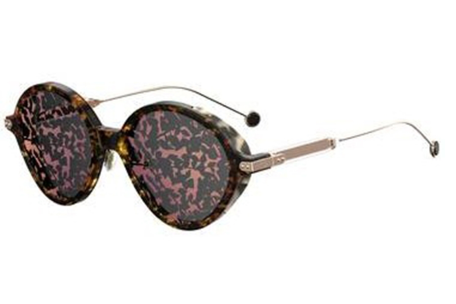 Christian Dior Diorumbrage Sunglasses in 00X3 Havana Red Gold (TN gray pk md lens)
