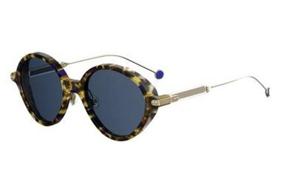 Christian Dior Diorumbrage Sunglasses in 00X4 Blue Havana Gold (KU blue avio lens)