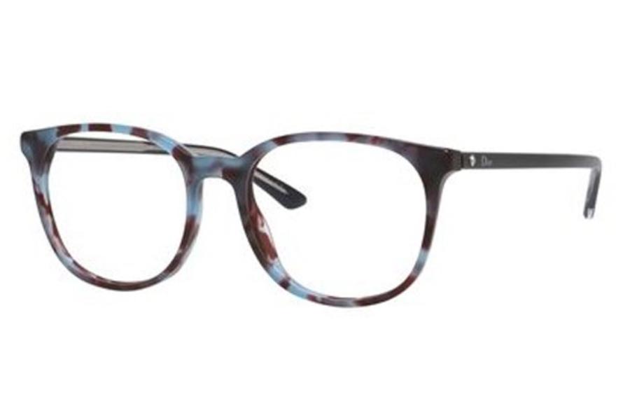 6805ea37482 ... Christian Dior Montaigne-34 Eyeglasses in Christian Dior Montaigne-34  Eyeglasses  Christian Dior Montaigne-34 Eyeglasses in 0TFW Blue Havana Black  ...