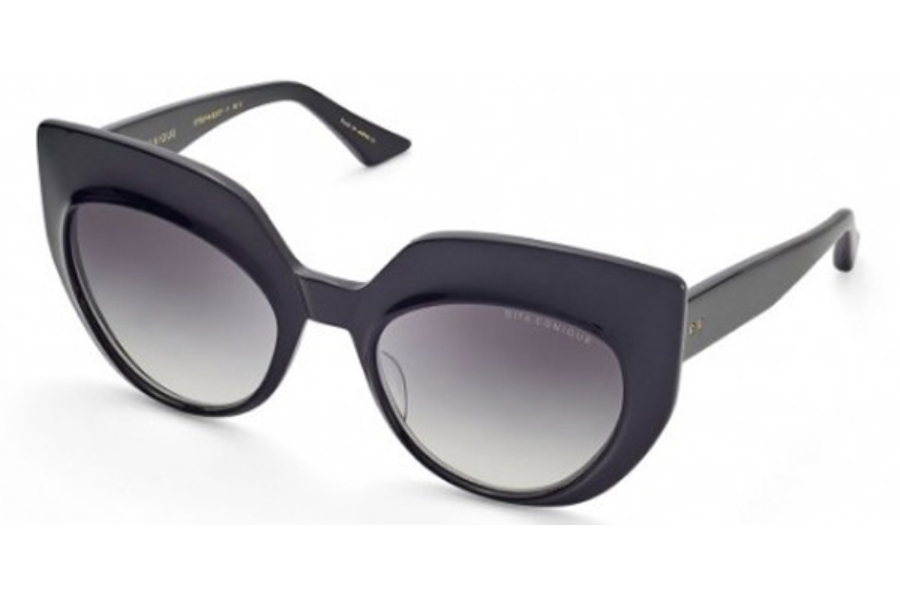 Dita Conique Sunglasses in Black / Grey Gradient