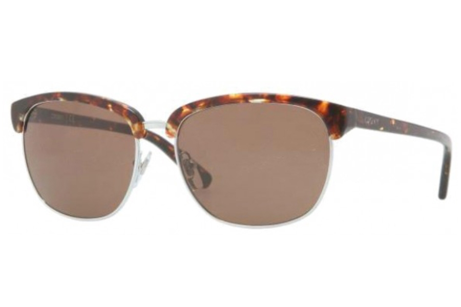 DKNY DY 4091 Sunglasses in 355373 ORANGE TORTOISE BROWN