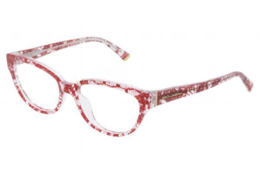 a079d8f12879 Dolce   Gabbana DG 3116 Eyeglasses in 1903 Red Lace Demo ...