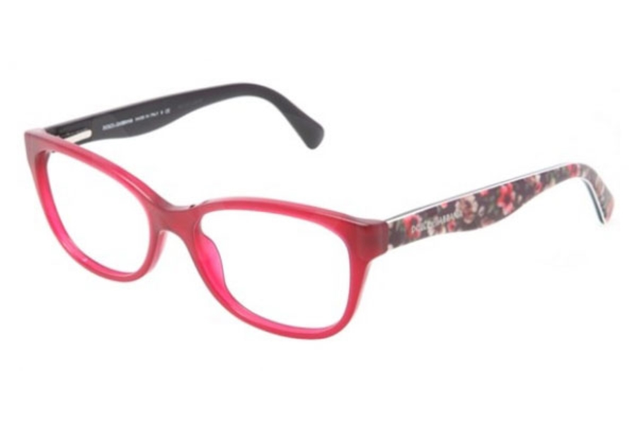 0a1bb689c017 ... Dolce   Gabbana DG 3136 Eyeglasses in 2782 Opal Bordeaux (53 eye size  only) ...