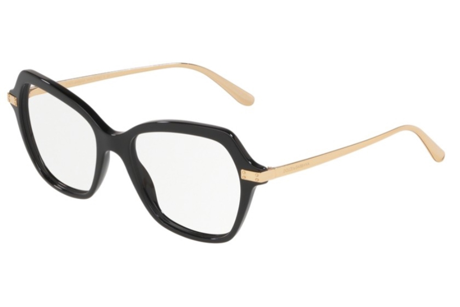 Dolce & Gabbana DG 3311 Eyeglasses in 501 Black
