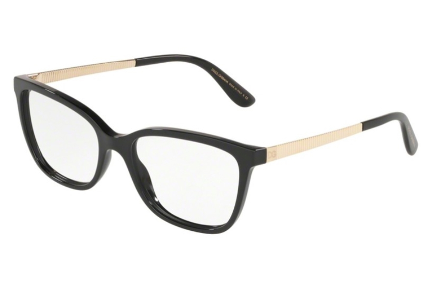 Dolce & Gabbana DG 3317F Eyeglasses in 501 Black