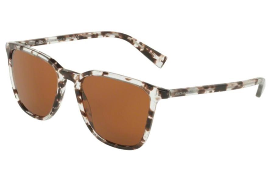 97e3c544d8de ... Grey Mirror Black  Dolce   Gabbana DG 4301 Sunglasses in 313873 Havana  Clear Brown   Brown ...