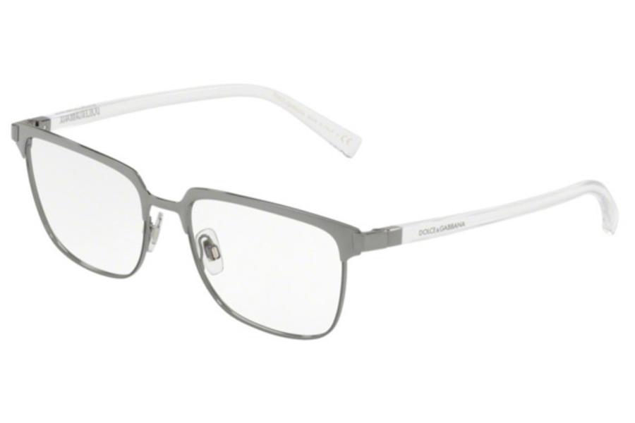 adac05af63ae ... Black  Dolce   Gabbana DG 1302 Eyeglasses in 04 Gunmetal Matte Gunmetal  ...
