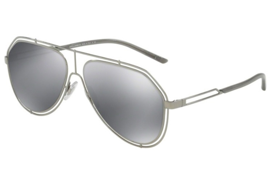 ad59a37667f ... 01 87 Black   Grey  Dolce   Gabbana DG 2176 Sunglasses in 04 6G  Gunmetal   Light Grey Mirror Black ...