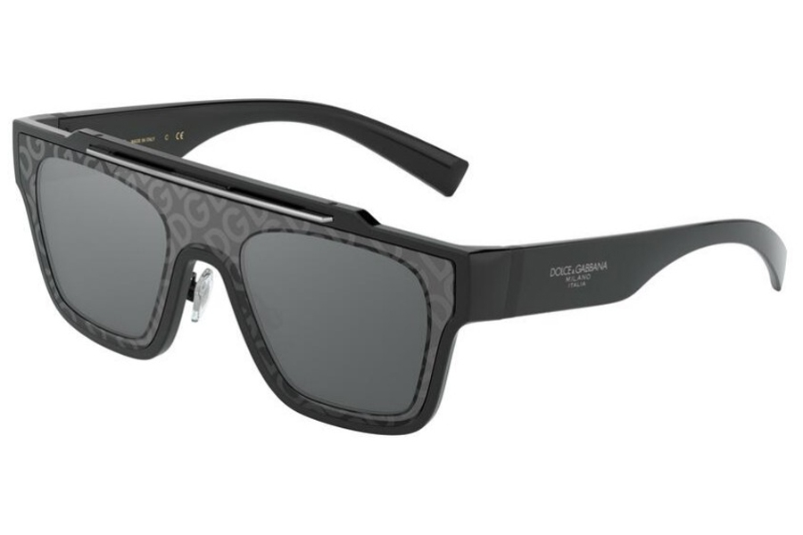 Dolce & Gabbana DG 6125 Sunglasses in 501/6G Black / Grey Mirror Black