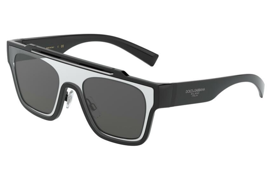 Dolce & Gabbana DG 6125 Sunglasses in 501/87 Black / Grey