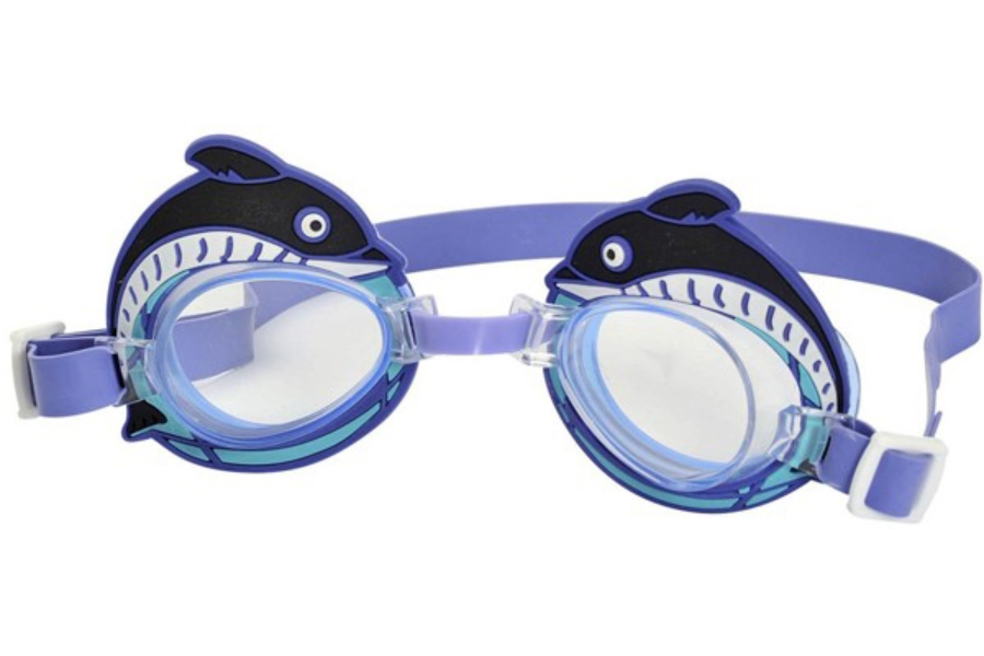 Hilco Leader Sports Dolphin Goggle - Youth (3-6 years) Goggles in Blue-Purple