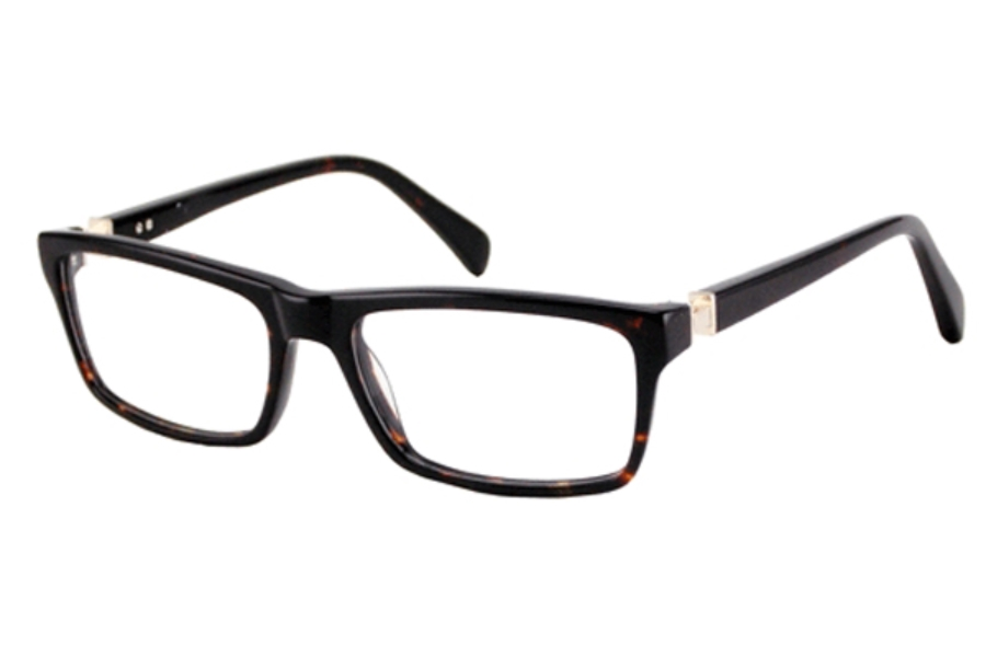 Donald J. Trump DT 58 Eyeglasses in BLACK