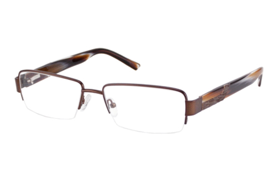 Donald J. Trump DT 56 Eyeglasses in BROWN