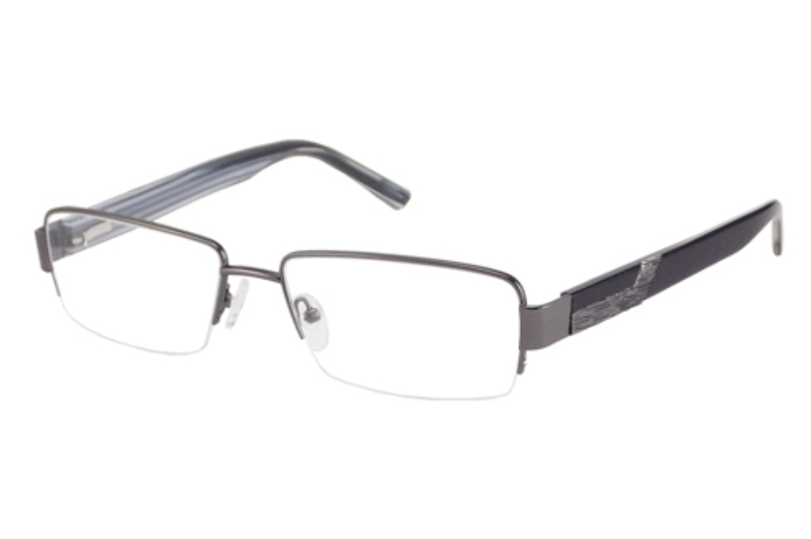 Donald J. Trump DT 56 Eyeglasses in GUNMETAL