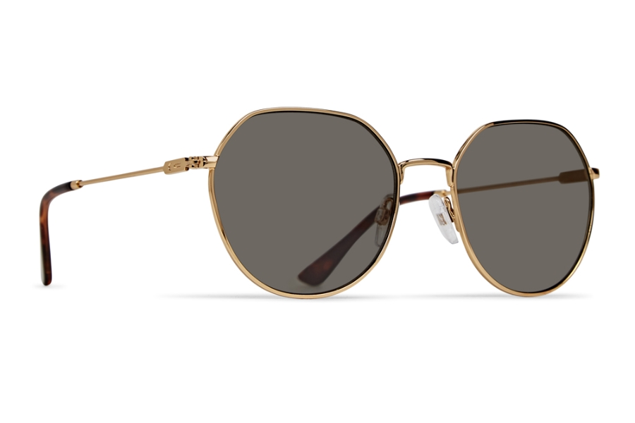 DotDash Jitters Sunglasses in GGN Gold/Vintage Grey