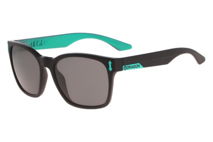 Dragon DR511S LIEGE Sunglasses in 007 Matte Black/Teal