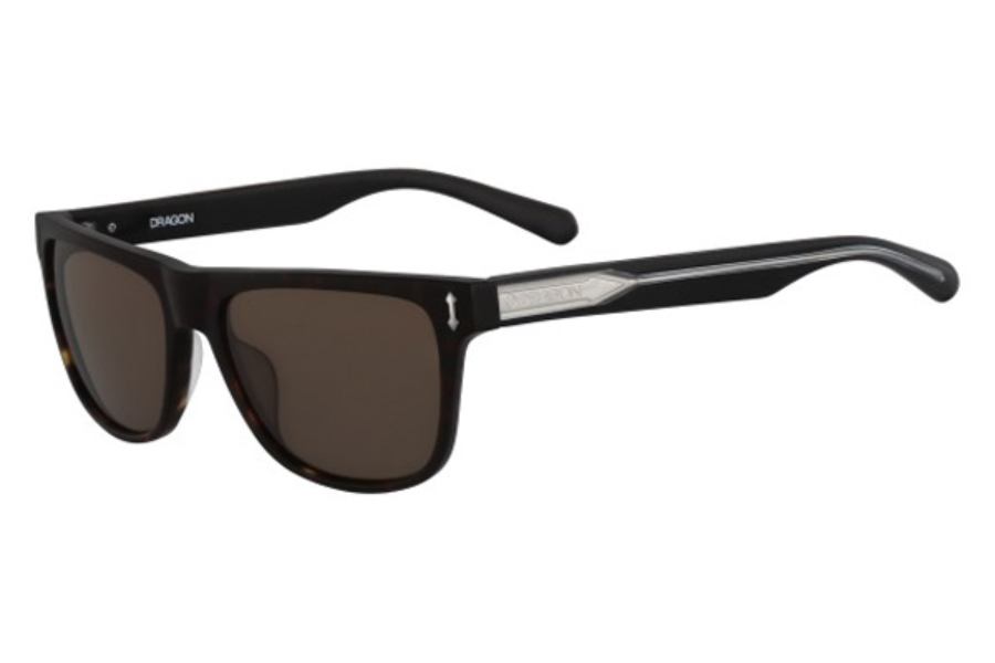 Dragon DR514S BRAKE Sunglasses in 226 Matte Dark Tortoise/Brown