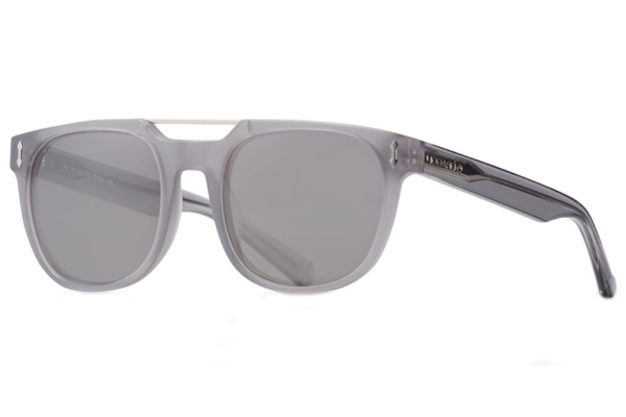 Dragon DR516S MIX Sunglasses in 057 Matte Crystal Grey/Smoke