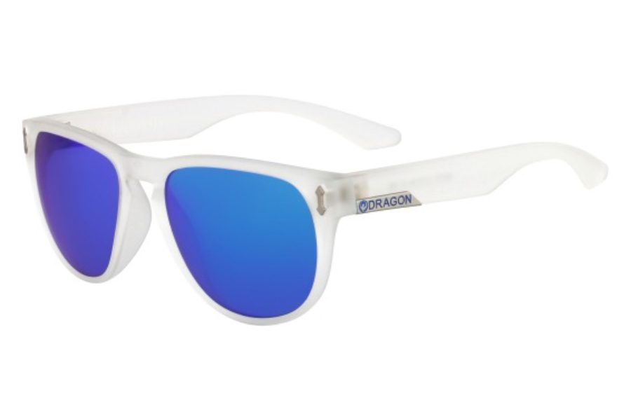 Dragon DR MARQUIS 2 Sunglasses in 910 Matte Clear Blue Ion