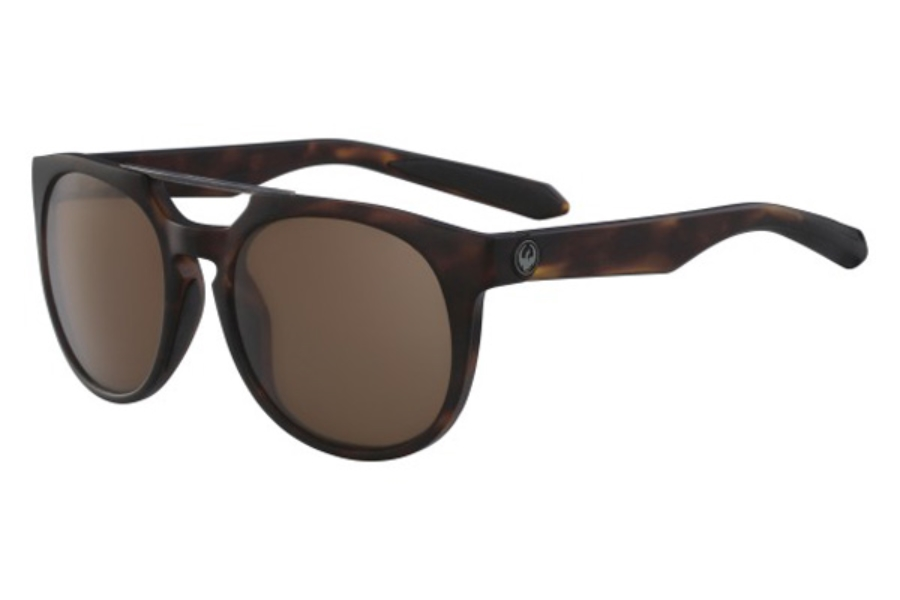 Dragon DR PROFLECT Sunglasses in 244 Matte Tortoise/G15