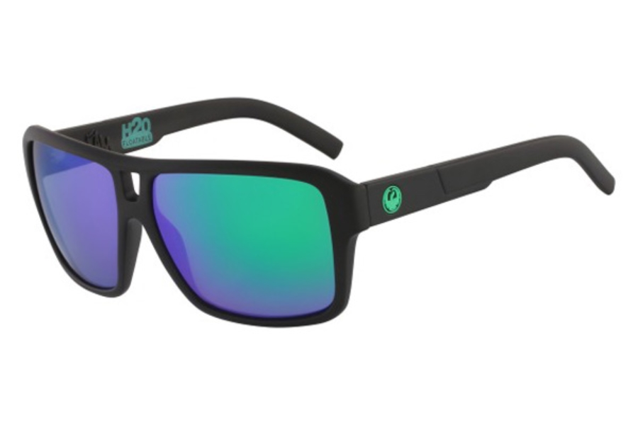 Dragon DR THE JAM POLAR Sunglasses in 011 Shawn Watson H20 Green Ion P2