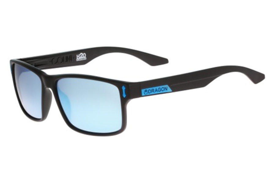 Dragon DR COUNT H2O Sunglasses in 455 Matte H2O Sky Blue