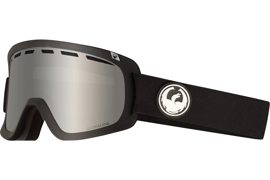 Dragon D1 OTG Goggles in Black W/ Silver Ion