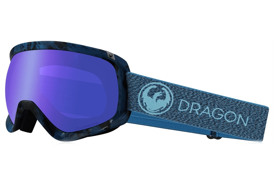 Dragon D3  - Continued Goggles in Mill Llblueionllamber