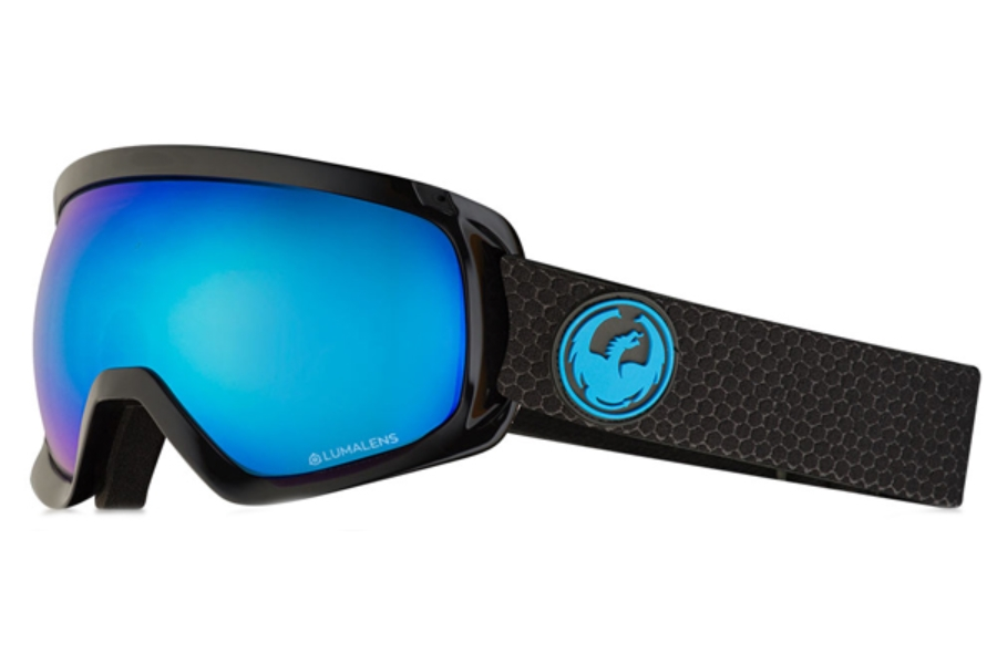 Dragon D3  - Continued Goggles in Split / Lumalens Blue Ion + Lumalens Amber