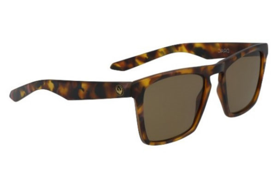 Dragon DR DRAC Sunglasses in 228 Tortoise With Purple With Bronze Lens