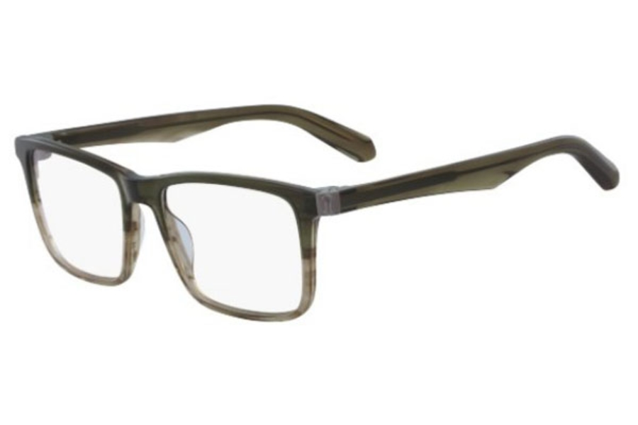 Dragon DR190 JACK Eyeglasses in 319 Olive Gradient Horn
