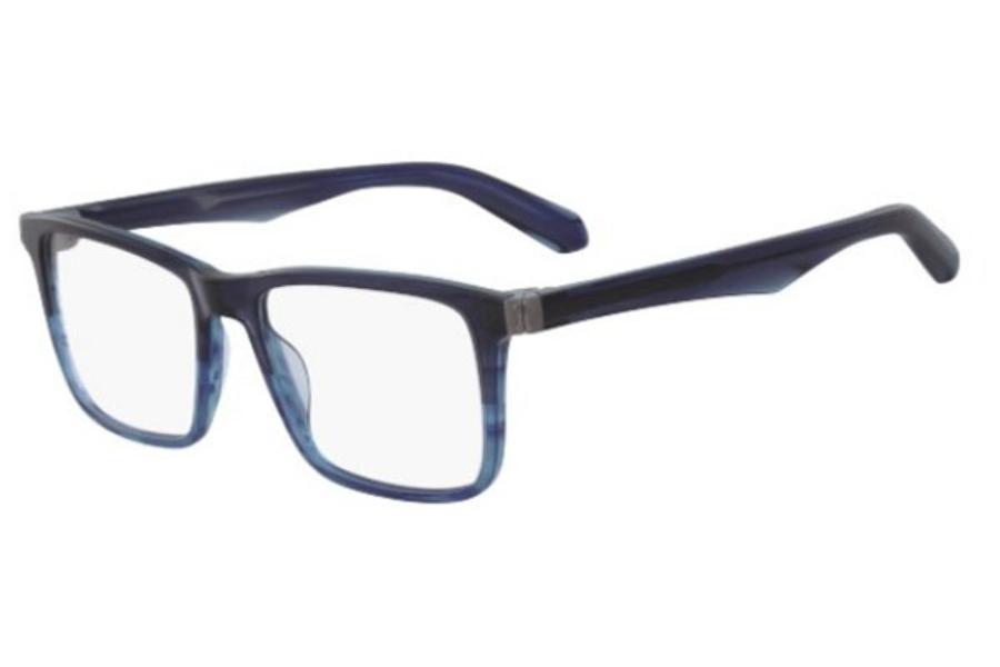 Dragon DR190 JACK Eyeglasses in 422 Navy Gradient Horn