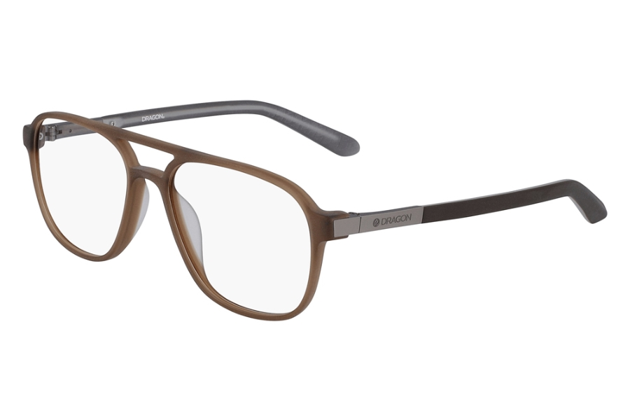 Dragon DR2005 Eyeglasses in Matte Brown Crystal