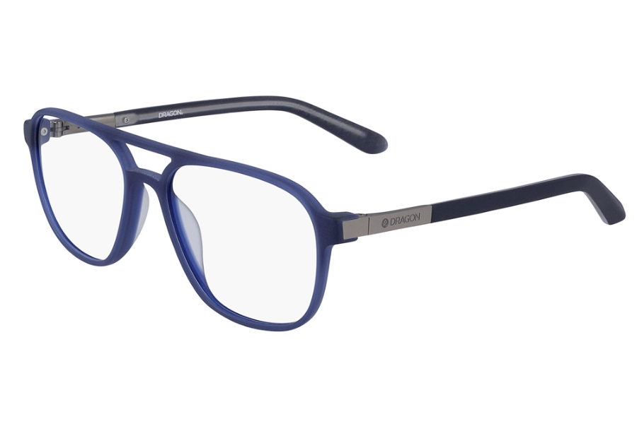 Dragon DR2005 Eyeglasses in Matte Navy Crystal