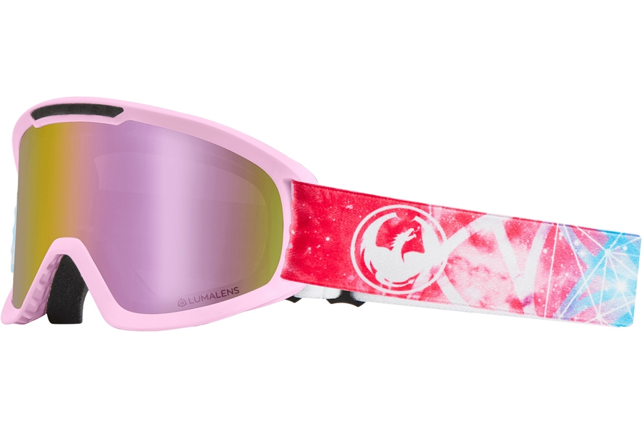 Dragon DX2 - Continued Goggles in Galaxy W/ Pink Ion & Dark Smoke