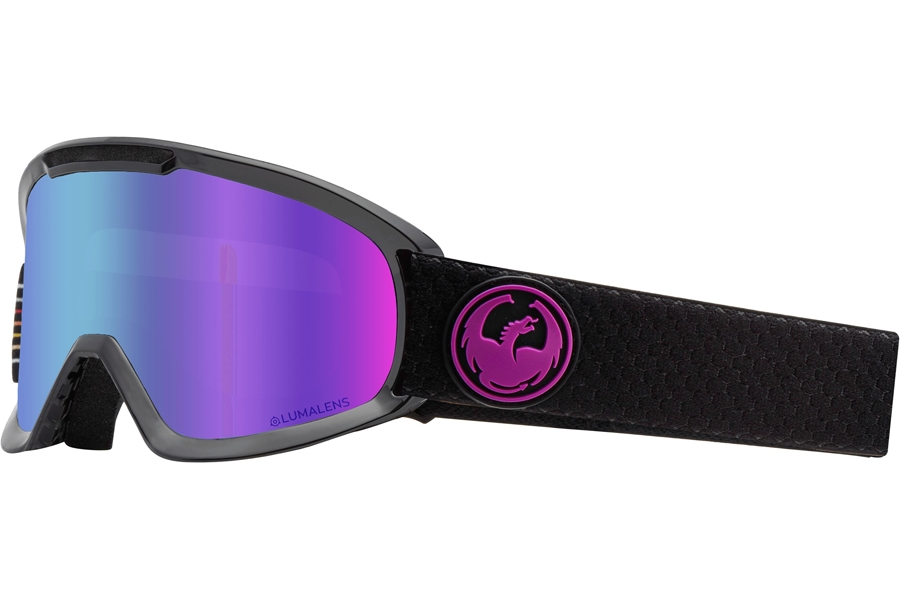 Dragon DX2 - Continued Goggles in Split W/ Purple Ion & Amber