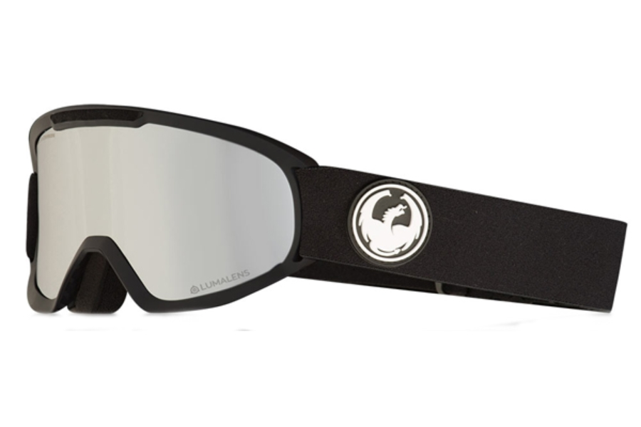 Dragon DX2 - Continued Goggles in Black / Lumalens Silver Ion