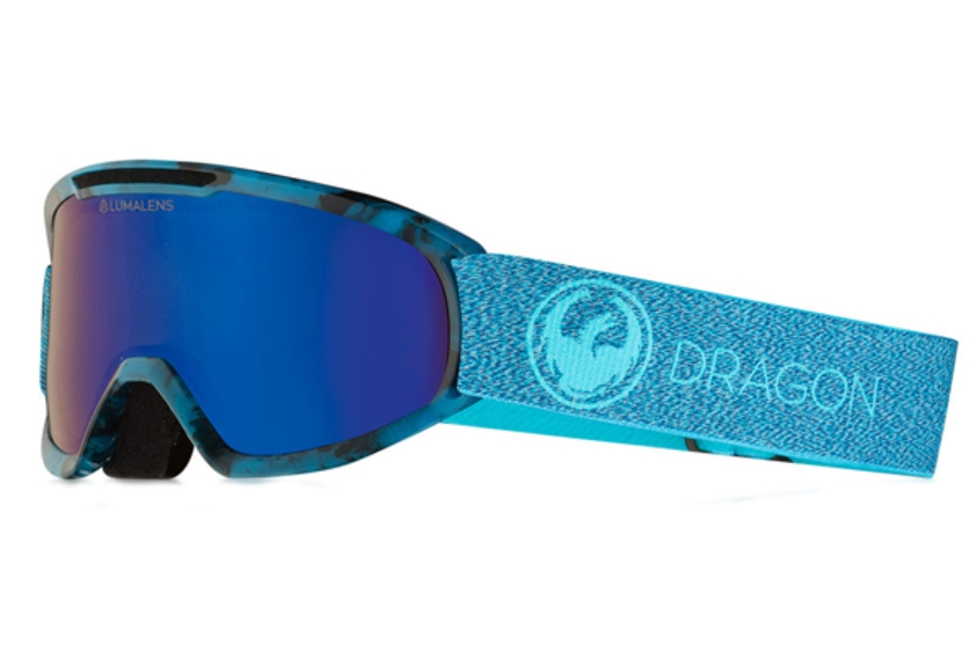 Dragon DX2 - Continued Goggles in Mill / Lumalens Blue Ion + Lumalens Amber