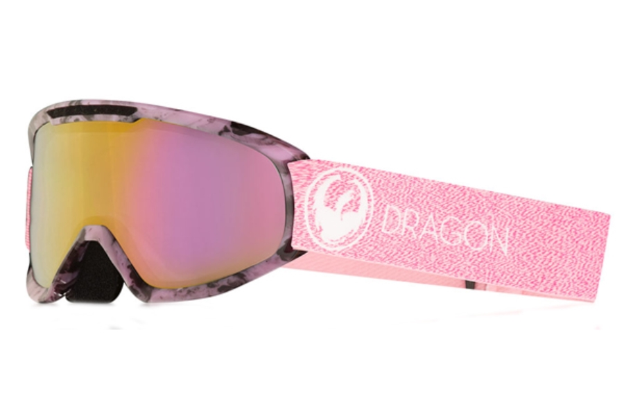 Dragon DX2 - Continued Goggles in Mill / Lumalens Pink Ion + Dark Smoke