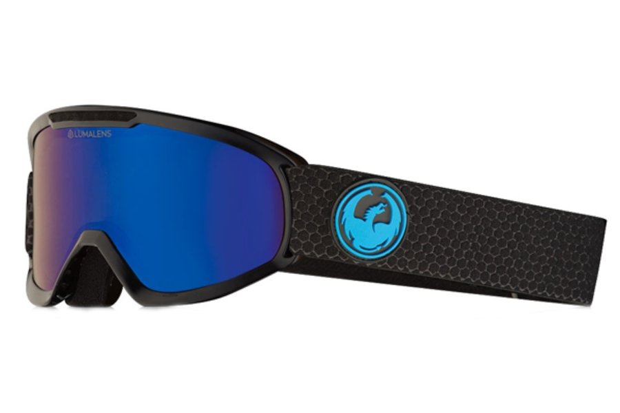 Dragon DX2 - Continued Goggles in Split / Lumalens Blue Ion + Lumalens Amber