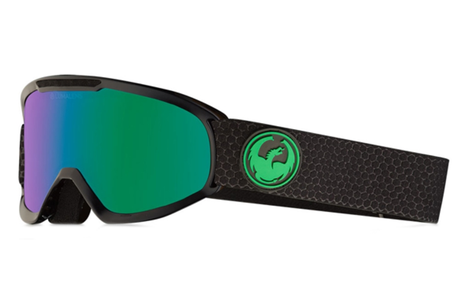 Dragon DX2 - Continued Goggles in Split / Lumalens Green Ion + Lumalens Amber