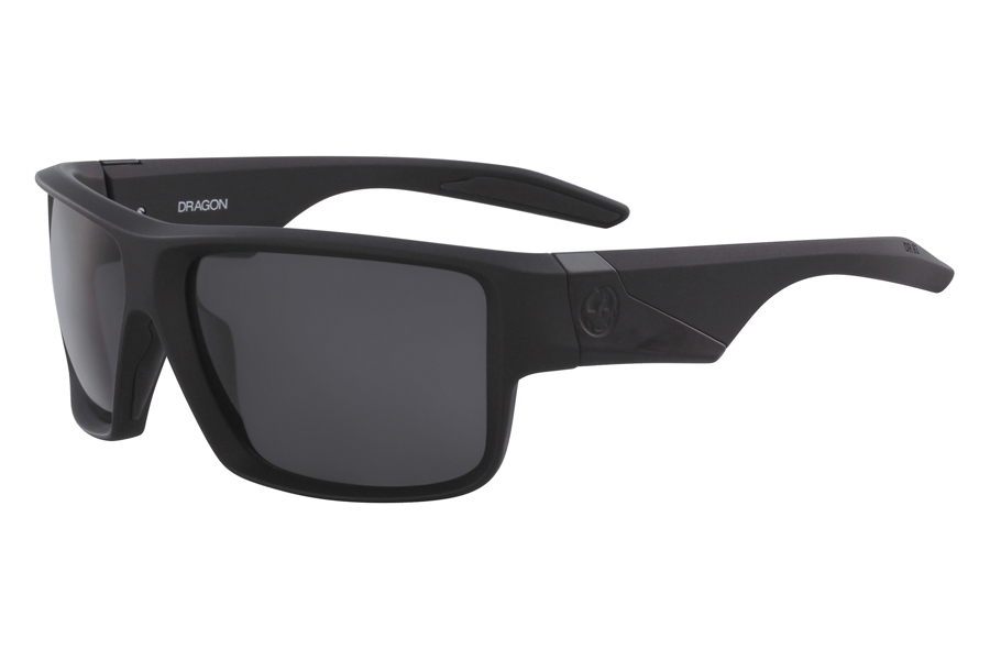 Dragon DR DEADLOCK Sunglasses in 002 Matte Black Grey