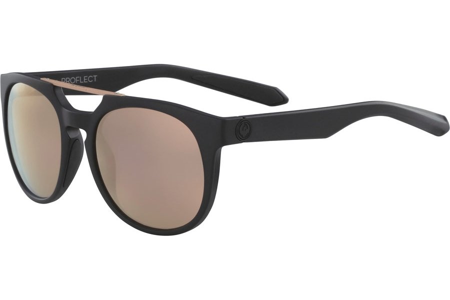 Dragon DR PROFLECT ION Sunglasses in Matte Black Rose Gold Ion