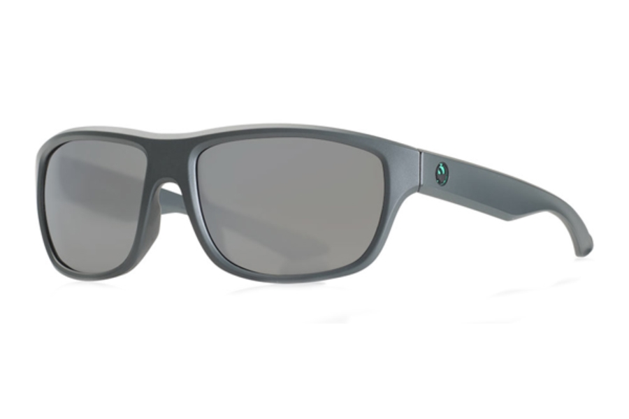 Dragon DR HAUNT Sunglasses in 025 Matte Magnet Grey H2O / Silver Ion Polar