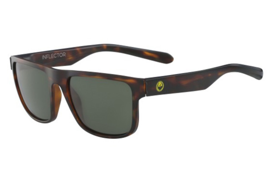 Dragon DR INFLECTOR Sunglasses in 244 Matte Tortoise/G15