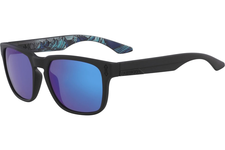 Dragon MONARCH Sunglasses in Matte Black Brian